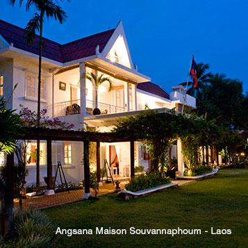 老挝MAISON桑维纳方姆饭店